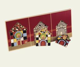 Maisons Mosaïques Simples